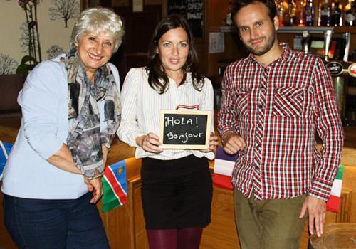 Co directors of Speak Street- Toni Jenkins, Joanna Bevan and Ulysses Diaz